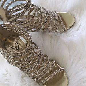 Windsor gold high heels